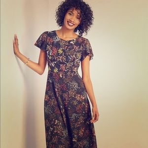 ModCloth Embellished to Perfection Floral Dress